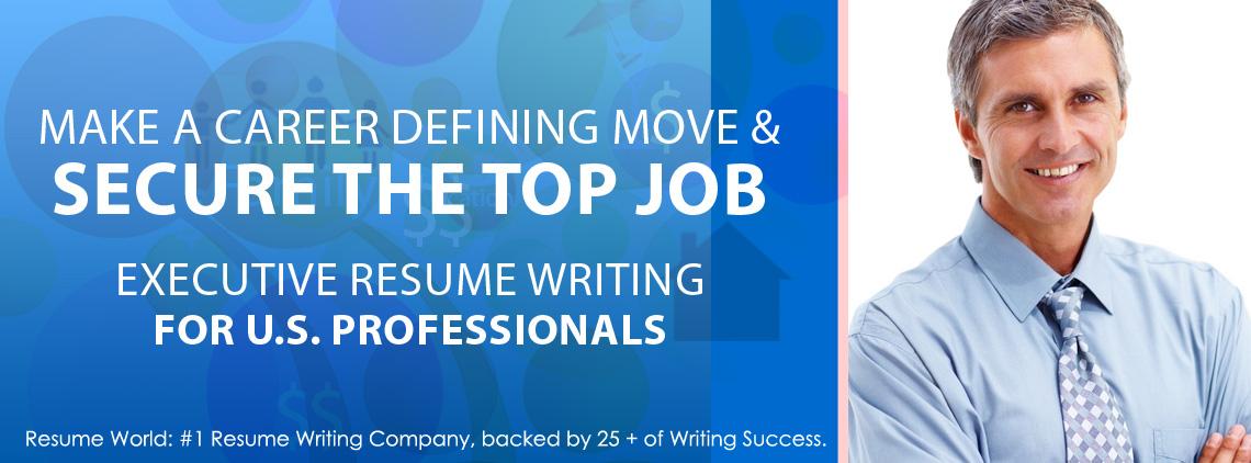 Executive Resumes - Resume World Inc